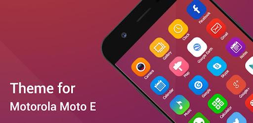 Launcher Themes for Motorola Moto E u2013 Programme op