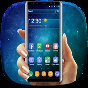 App Galaxy Blue Star Universe Edge Theme APK for Windows Phone