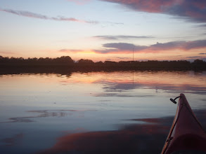 Photo: 1 mei 2008 zonsondergang 1417