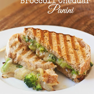 Broccoli Cheddar Panini …plus Win SIGNED Pioneer Woman Holiday Cookbooks!.