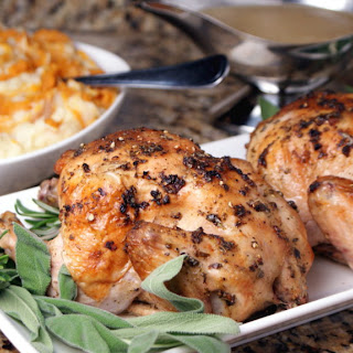Cajun Herb Roasted Cornish Hens