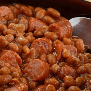 Beans & Weenies Casserole.