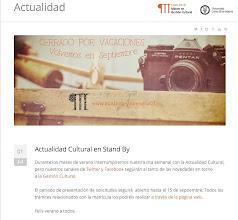 Photo: Recuerda, la #ActualidadCultural la haces tú; nosotros solo tratamos de ponerla de manifiesto.