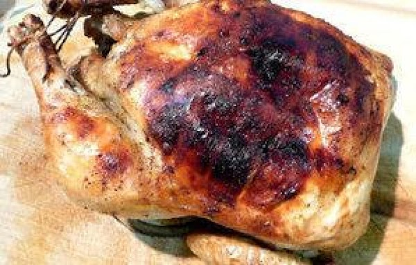 Roasted Chicken With Nutmeg And Orange Recipe