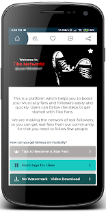 App Tiko - Get fans & followers & likes tk APK for Windows Phone