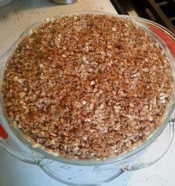 Sweet Potato Streusel Pie Recipe
