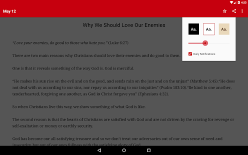 John Piper Daily Devotional- screenshot thumbnail