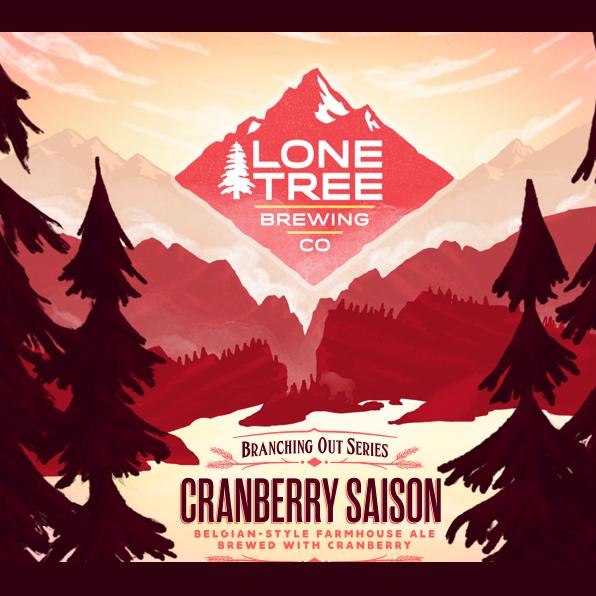 Logo of Lone Tree  Cranberry Saison