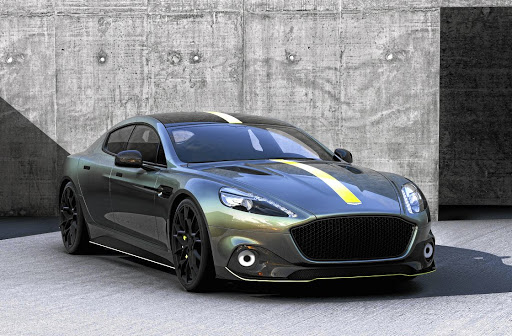 Aston Martin is testing its Aston Martin Racing (AMR) Rapide at the Nurburgring. Picture: NEWSPRESS UK