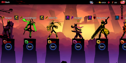 League of Stickman 2-Online Fighting RPG 1.2.7 screenshots 7