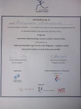 Photo: 2015 r wrzesień warsztaty Labanowskiego systemu analizy i notacji ruchu (50 godzin zajęć) prowadzone przez mgr Urszulę Loba - Wilgocką w ramach Warszawskiego Centrum Tańca