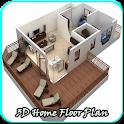 3D家庭平面图设计 icon