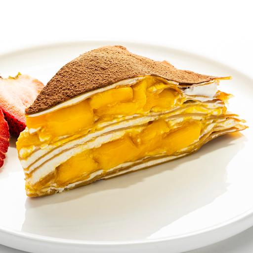 MangoMisu Mille-Crêpe Cake (Slice)