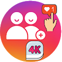 4K Followers -- followers& Likes for Instagram icon