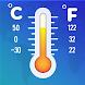 温度計-湿度計、温度測定