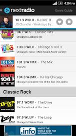 NextRadio - Free Live FM Radio Screenshot 5