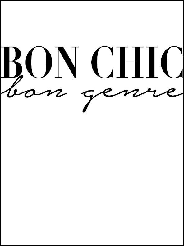 BON CHIC