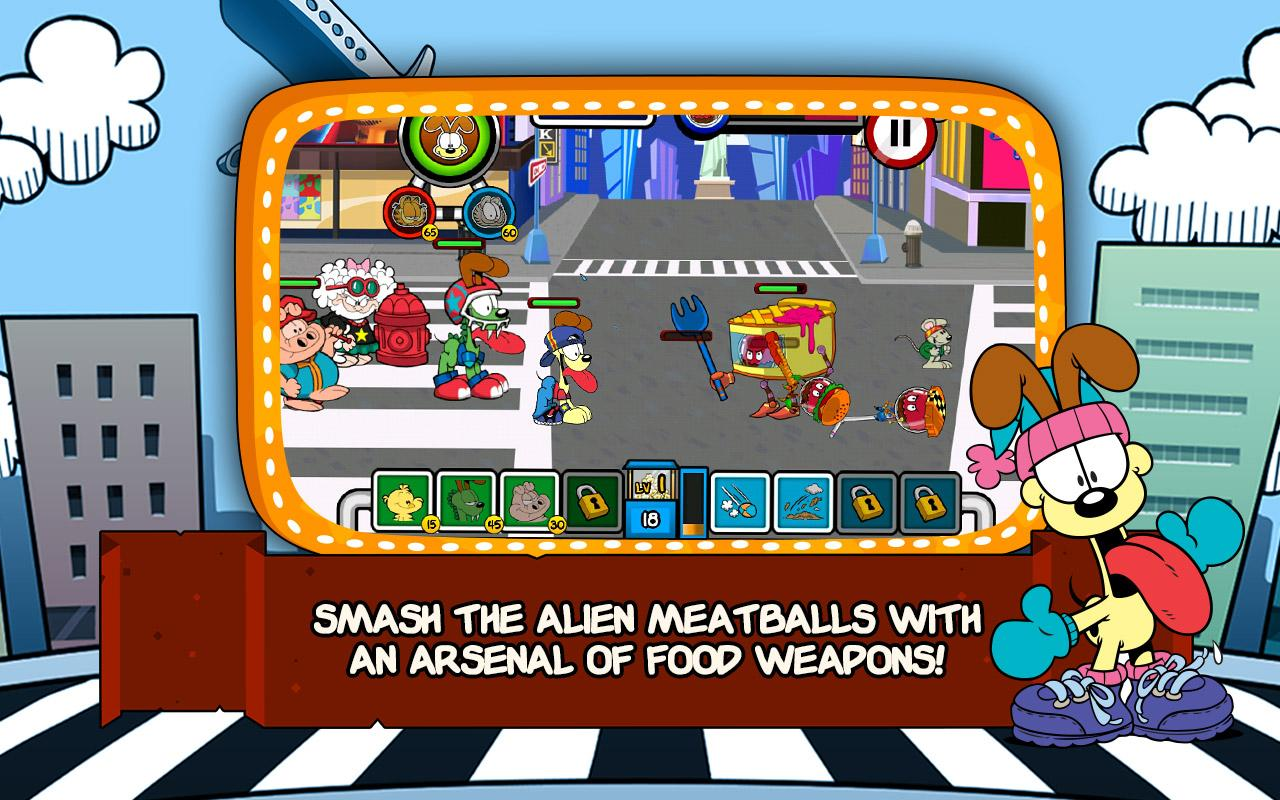Garfield's Defense 2- screenshot