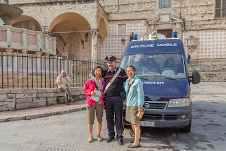 Photo: Irene, Italian cop and Florine