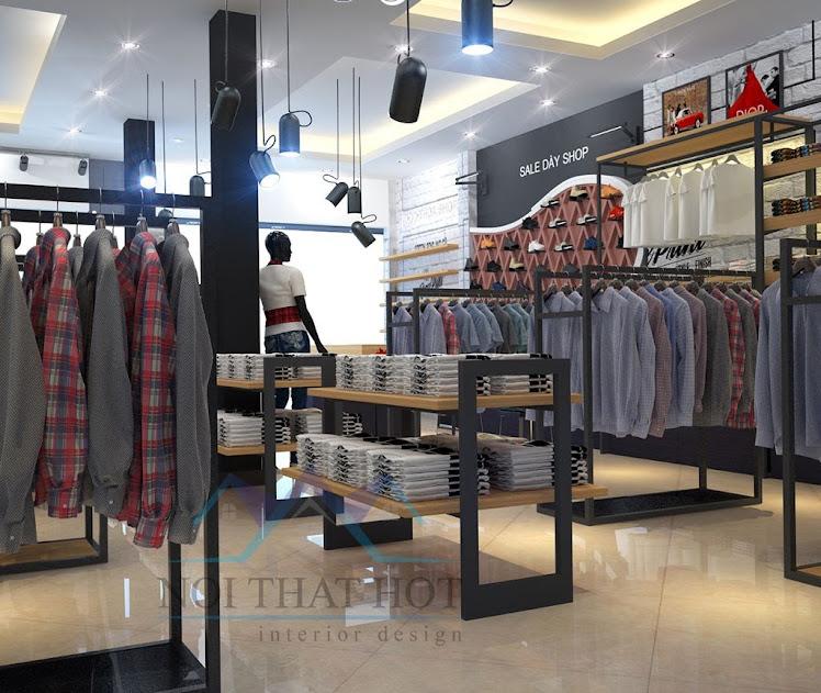 thiết kế cửa hàng thời trang đẹp tại hà nội