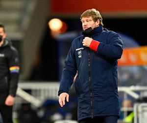 """Hein Vanhaezebrouck ziet zijn ploeg hervallen: """"Het is niet de eerste keer dat ze zo scoren tegen ons"""""""