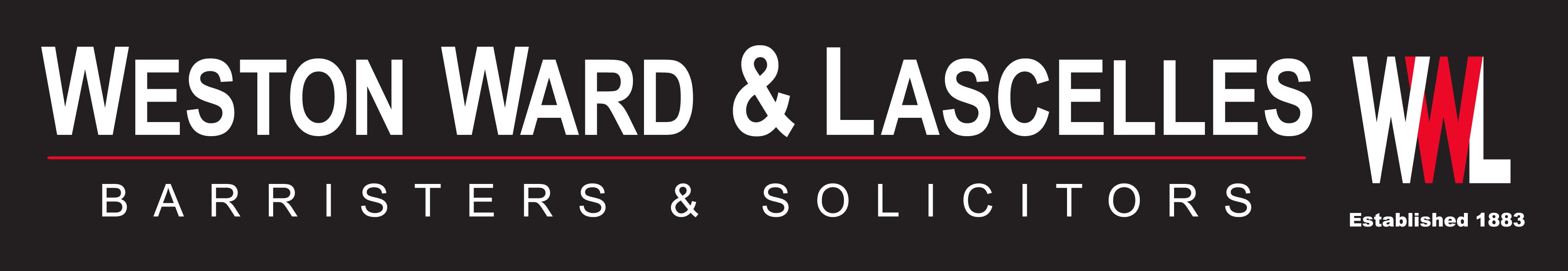 Weston Ward & Lascelles Logo - Leading Lawyers Christchurch