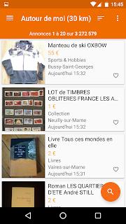 leboncoin, petites annonces screenshot 03