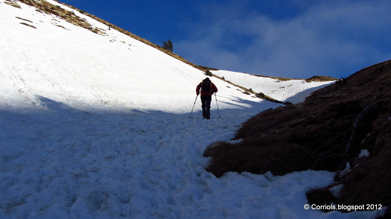 Photo: Pala de neu prop de la Portella