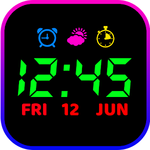Smart Night Watch Night clock Wallpapers HD 2.1 by The Night Clocks logo
