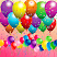 Colorful balloons - look for the same picture