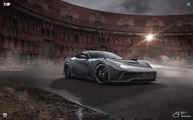 Black Ferrari HD Wallpapers New Tab Theme