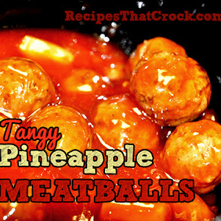 Tangy Pineapple Meatballs
