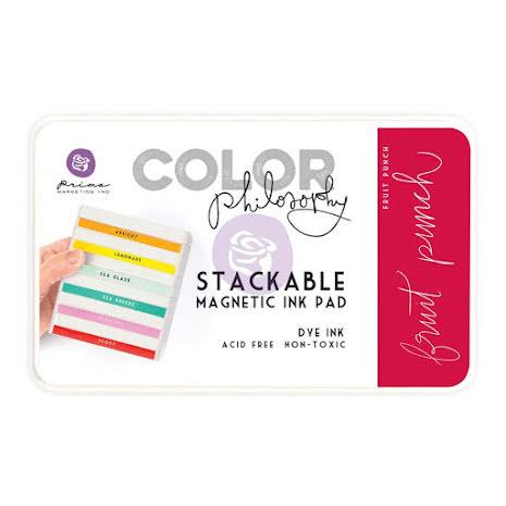 Prima Color Philosophy Dye Ink Pad - Fruit Punch UTGÅENDE