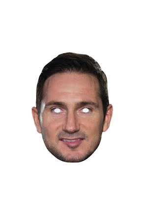 Pappmask, Frank Lampard