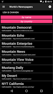 World Newspapers (12.000+ Newspapers) Screenshot