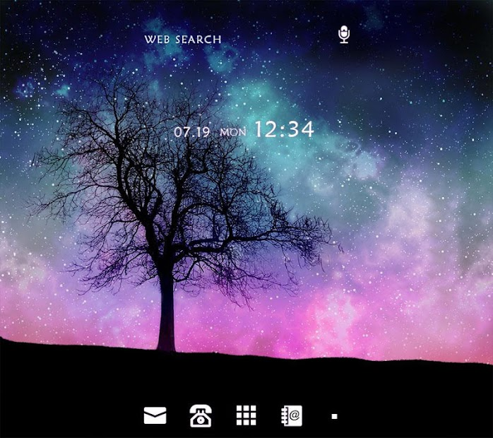 Fantastic Tree +HOME Theme Android App Screenshot