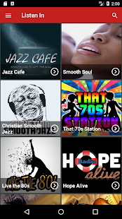 Listen In Radio- screenshot thumbnail
