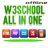 W3School All in One OFFLINE