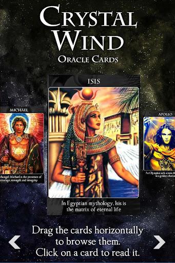 Crystal Wind Oracle Cards Apk Download 3