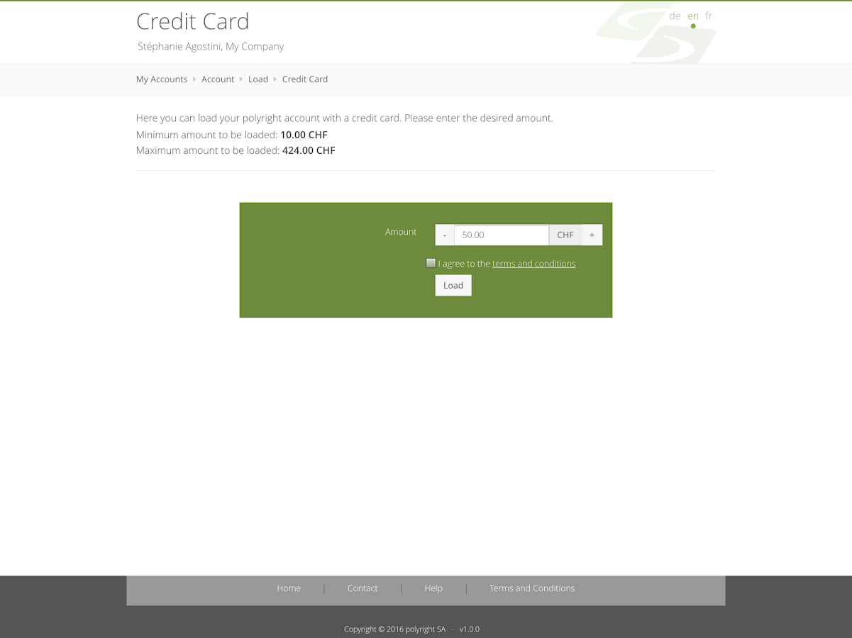 polyright cashless- screenshot