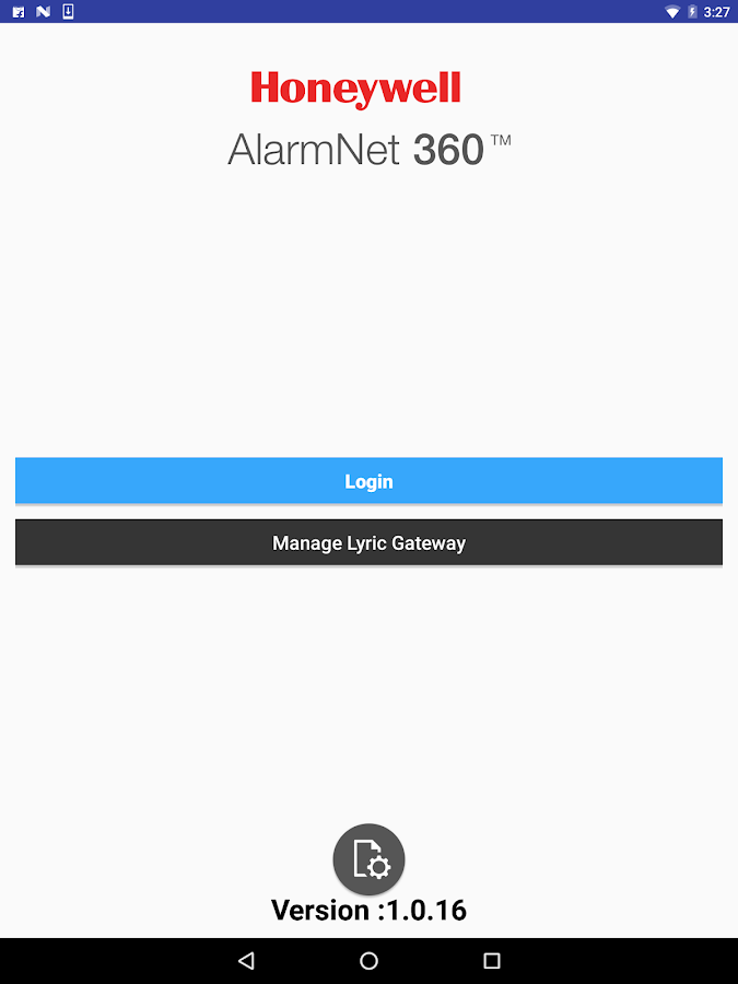 AlarmNet 360- screenshot