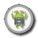 DroiDrum - a basic drum set icon