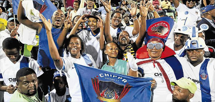 You can be one of the fans cheering on Chippa United when they take on Bloemfontein Celtic at Sisa Dukashe Stadium in Mdantsane on Friday night.