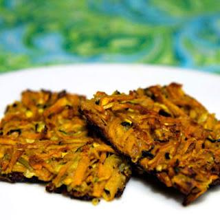 Crispy Zucchini Baked and Sweet Potato Latkes