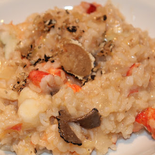 Lobster Truffle Champagne Risotto