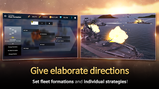 Code Triche Warship Fleet Command : WW2 Naval War Game mod apk screenshots 4