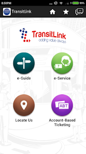 TransitLink Mobile Services - náhled