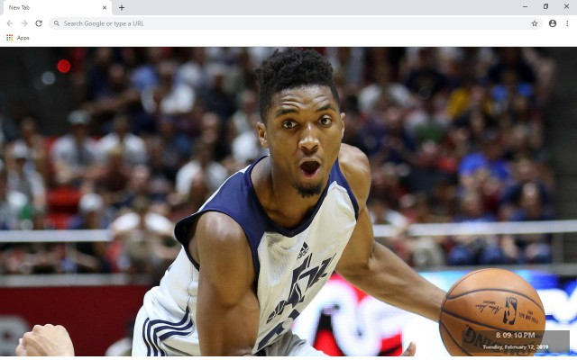 Donovan Mitchell New Tab
