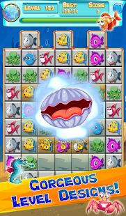 Underwater Jewels Match- screenshot thumbnail