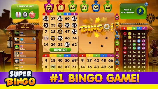 Super Bingo HD Free Bingo Game – Live Bingo 4